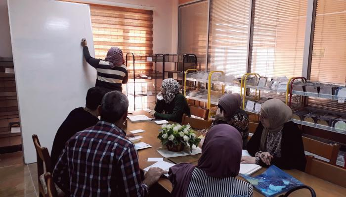 The Central Library Holds a Workshop on Descriptive Cataloging