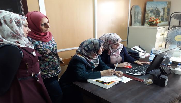 المكتبة المركزية تنظم ورشة عمل عن الية ادخال البيانات والمعلومات واوعية المكتبات بأشكالها المختلفة