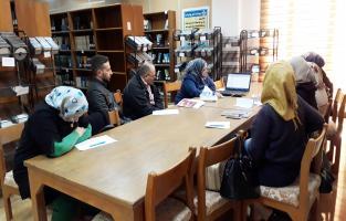 المكتبة المركزية تنظم ورشة عمل عن نظام KOHA