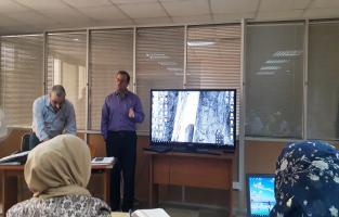 المكتبة المركزية تشارك في ورشة عمل عن المستودع الرقمي
