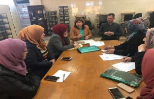 المكتبة المركزية تنظم ورشة عمل تصنيف وفهرسة الكتب تقليدياً والكترونياً
