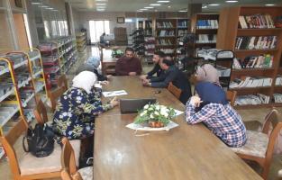 المكتبة المركزية تقيم ورشة عمل بعنوان IVSL